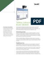 Factsheet SMART Board 600 Dual touch FR