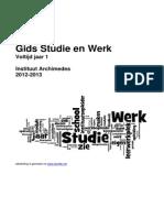 GIDS Studie en Werk Voltijd Jaar1