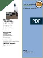 Ficha de Comparables