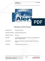 Alert Management by Projects
