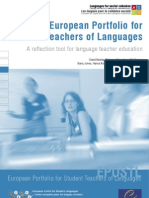European Portfolio for Student Teachers of Languages (EPOSTL)