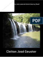 Peixes do rio Estreito, meio-oeste de Santa Catarina, Brasil
