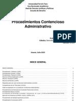 Procedimientos Administrativos, esquemas..pdf