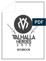 Valhalla Rule Book 2015
