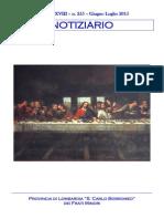 Notiziario 255 - Frati Minori di Lombardia