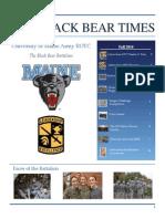 UMaine Army ROTC Newsletter