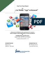 MobileApp Based Marketing