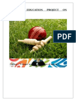 81153185 Physical Education Project on Cricket