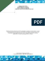 Relatório de Gestão Da Casa Da Moeda Do Brasil de 2013