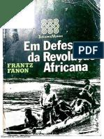 Em Defesa da Revolução Africana - Frantz Fanon.