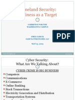 Business Considerations for Cyber Security