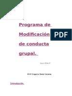 ModificaciOn de Conducta en Aulas-1