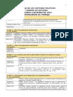 Sistemas Politicos Cronograma 2014 v5