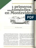 BSE Primeros Automoviles Uruguay