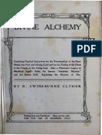 1907 Clymer Divine Alchemy