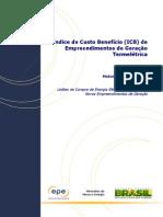 ANEXO XIV - Metodologia Do Cálculo Do Índice de Custo Benefício - ICB
