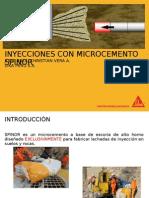 Inyecciones Con Microcemento Spinor INYECCIONES CON MICROCEMENTO SPINOR.ppt