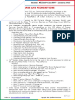 Current Affairs Pocket PDF – January 2015 by AffairsCloud