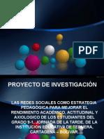 Ponencia Proyecto de Investigacion Sobre Redes Sociales