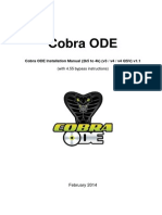 Cobra ODE Installation Manual (2k5 to 4k) (v3 v4 v4-QSV) (English) v1.1