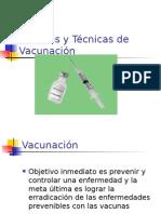 Adol I vacunas y técnica