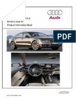 MY2012 Audi A7 Product Info Book