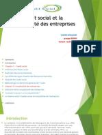 L'Audit Social Et La Compétitivité Des Entreprises