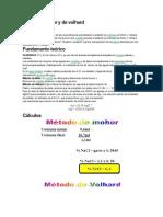 Metodos de Mohr y Volhard