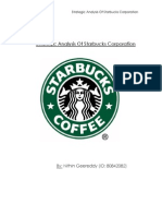 Starbucks Case Analysis