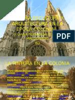 Pintura,Escultura y Arquitectura en La Epoca Colonial Juliana Florez