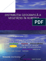 Vegetatia Romaniei