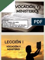 Leccion 1. Vocacion y Ministerio