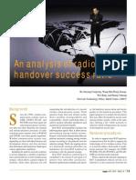 Analysis Handover Succes