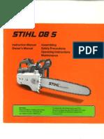 Stihl 08S Manual