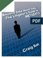 The Litigators Guide to Metadata 2011