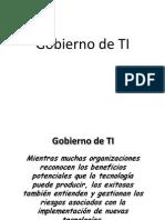 Gobierno de TI