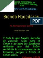 SIENDO HACEDORES