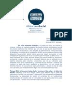 Manifiesto Cónclave Social 25J