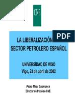 La Liberalizacion Sector Petrolifero