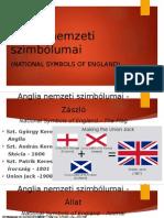 Anglia Nemzeti Szimbólumai