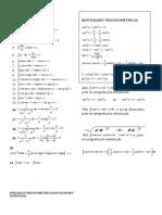 Todas as Formulas de Integrais