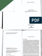 Tratado Teologico-politico -BARUCH SPINOZA(1)
