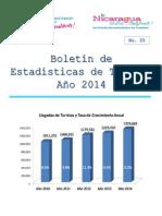 Estadisticas de Turismo 2014