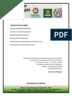 Programa de Gobierno Wilson Flórez