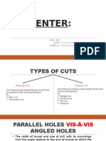 Types of Cuts