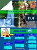 1. Diapositivas de Normas Ley de Los Recursos Hidricos