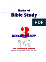 Basics of Bible Study