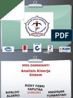 PPT-Analisis Kinerja System