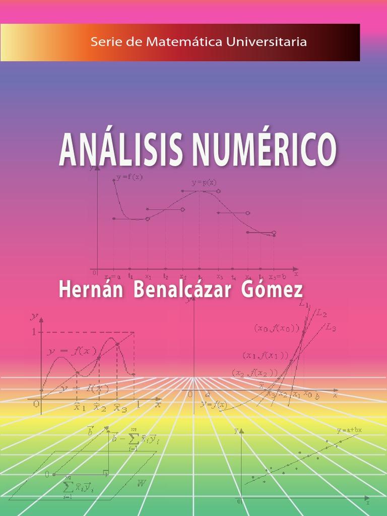 ANALISIS NUMERICO - HERNAN BENALCAZAR GOMEZ 1509922350