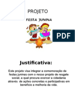 Projetos Festas Juninas 1